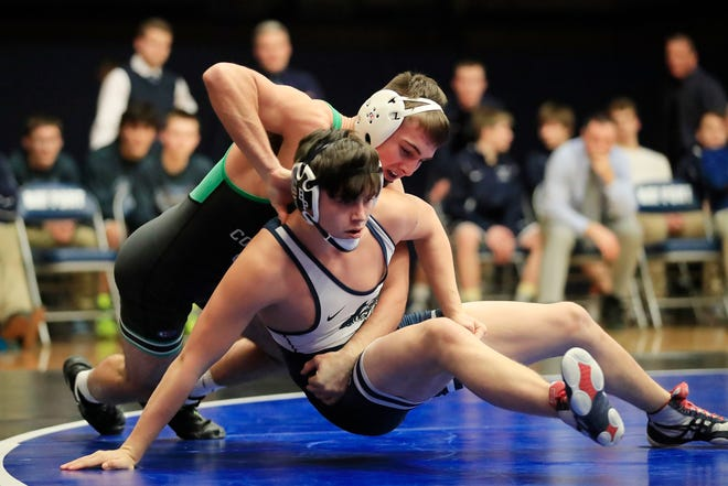 Coleman's Jake Baldwin is ranked No. 1 at 145 pounds in the latest Division 3 state wrestling poll.
