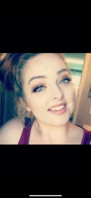 Reghan Berry took this selfie about 8 months before she died, during one of her sober times. This is the photo used in her obituary.
