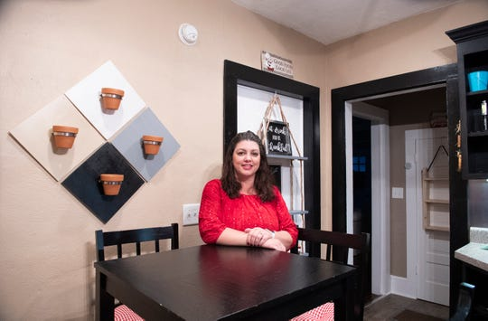 Sherry Rhodes has made one small renovation to her home so far, and said she looks forward to doing more in the years ahead.