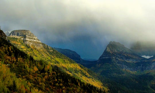 Fall, Going-to-the-Sun Roag, Glacier National Park