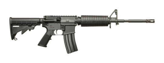 A Doublestar brand AR-style patrol rifle similar to the one stolen from a Henderson police officer's personal vehicle.