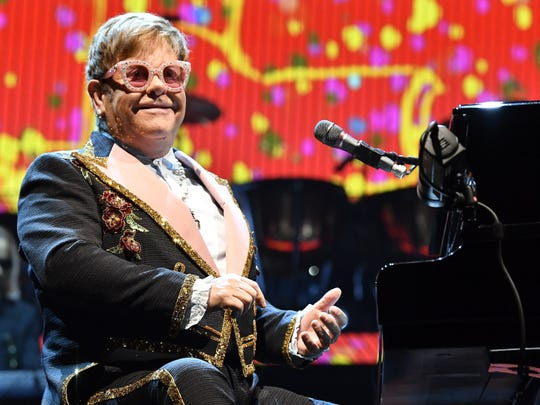 Elton John will perform Oct. 25, 2019, at Bankers Life Fieldhouse.