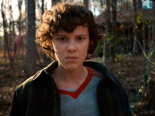 """Millie Bobby Brown portrays telekinetic heroine Eleven on Netflix series """"Stranger Things."""""""