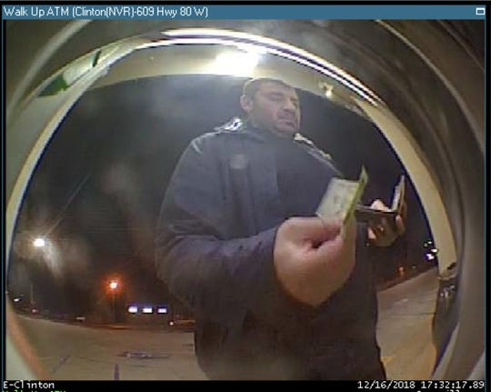 This surveillance image shows George Zica, according to the Clinton Police Dept.