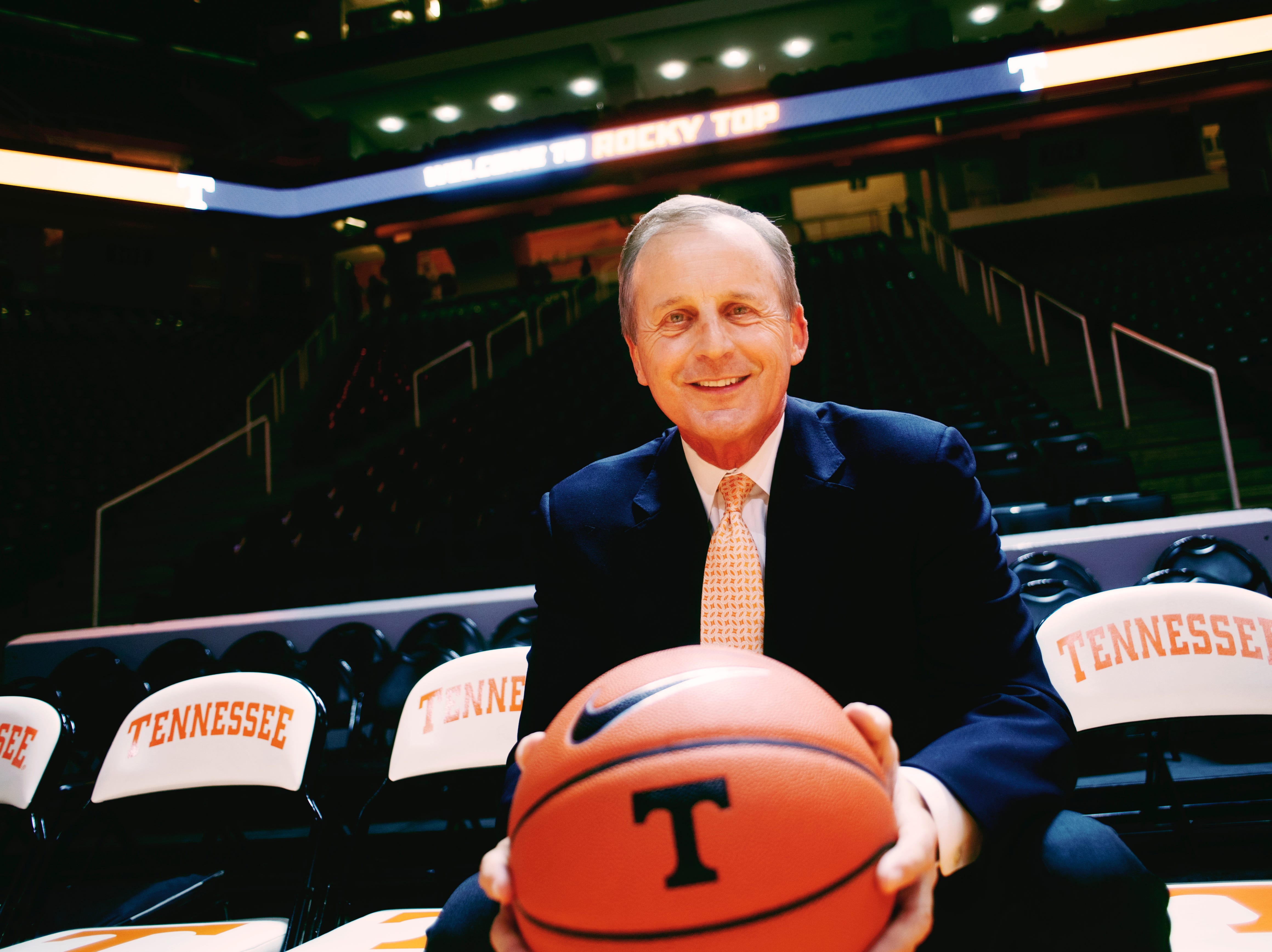 Tennessee Volunteers Basketball Head Coach Rick Barnes is the News Sentinel Sportsperson of the Year.