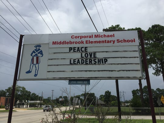 Plantation Elementary was renamed for Cpl. Michael Middlebrook in 2018.