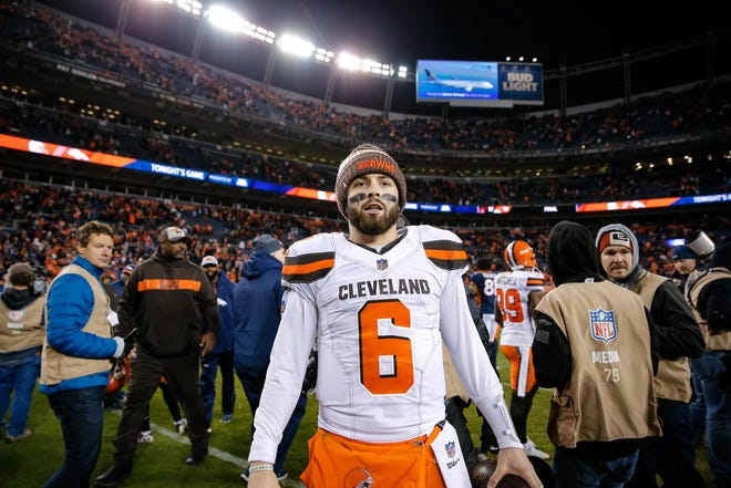 Santa Spence is going to see to it that someday soon Baker Mayfield will plant a flag that fans in Ohio can embrace.