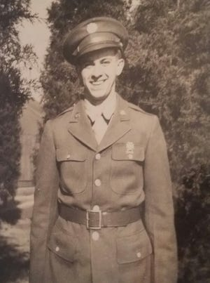 Harold Myers served in General Patton's 3rd Army inFrance during WWII.