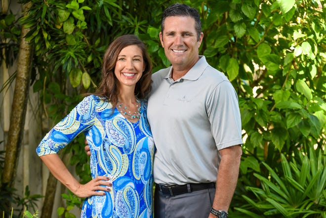 Doug McCloy, right, with wife Rhonda, has started an eye clinic in Jamaica thanks in part to support he received in Marion.