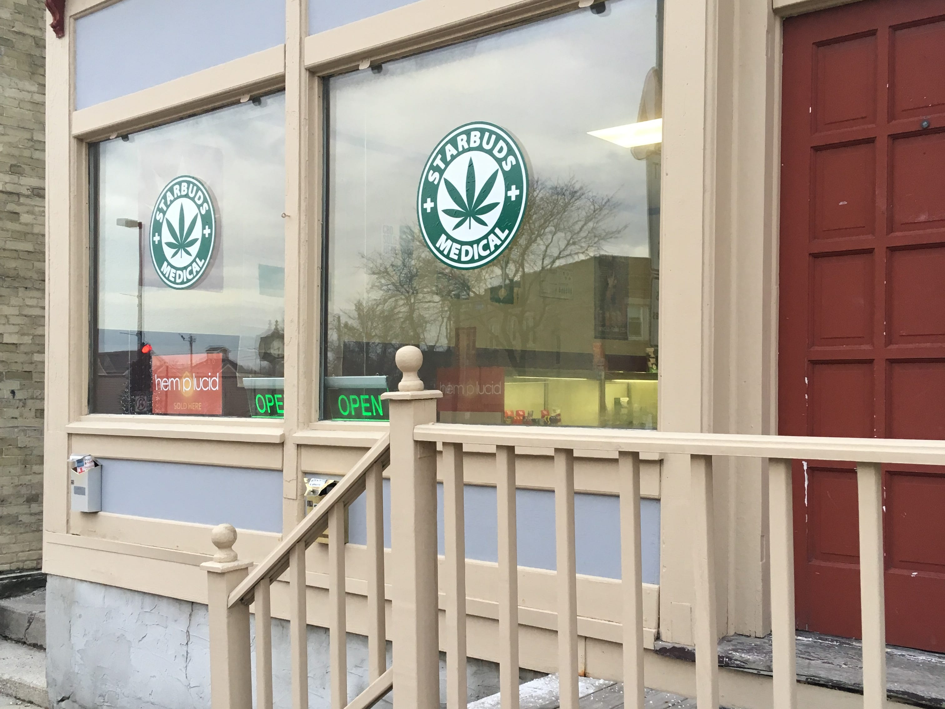 Starbuds opened in Menomonee Falls downtown shortly after industrial hemp was legalized nation-wide.