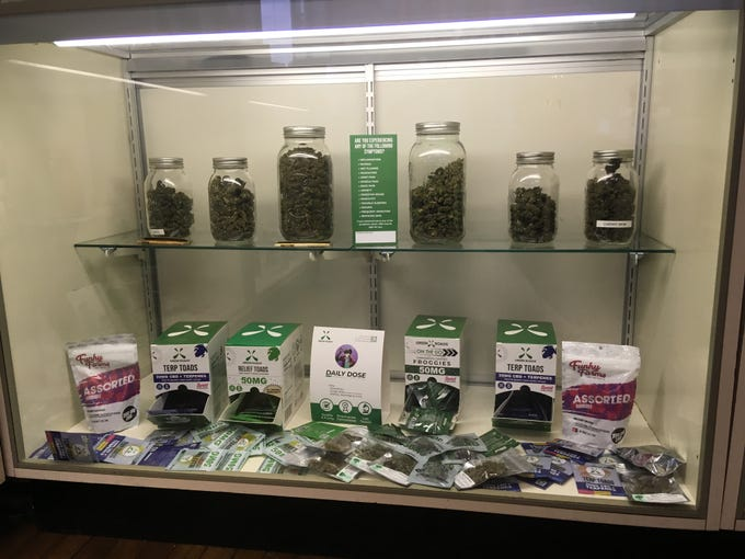 The products at Starbuds Medical don't contain THC, the psychoactive component in marijuana.