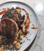 An untraditional jaegerschnitzel is new on the menu at View MKE, 1818 N. Hubbard St.