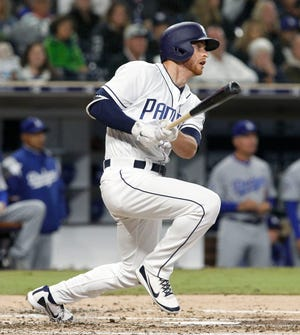 The San Diego Padres cut infielder Cory Spangenberg loose in November as part of a roster shake-up.