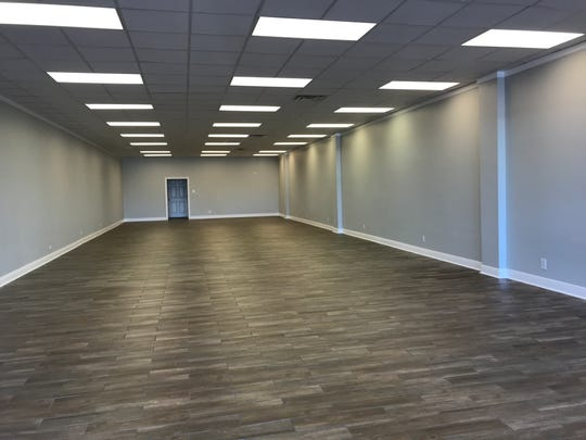 This is an available, recently refurbished unit in Twin City Shopping Center in Monroe.