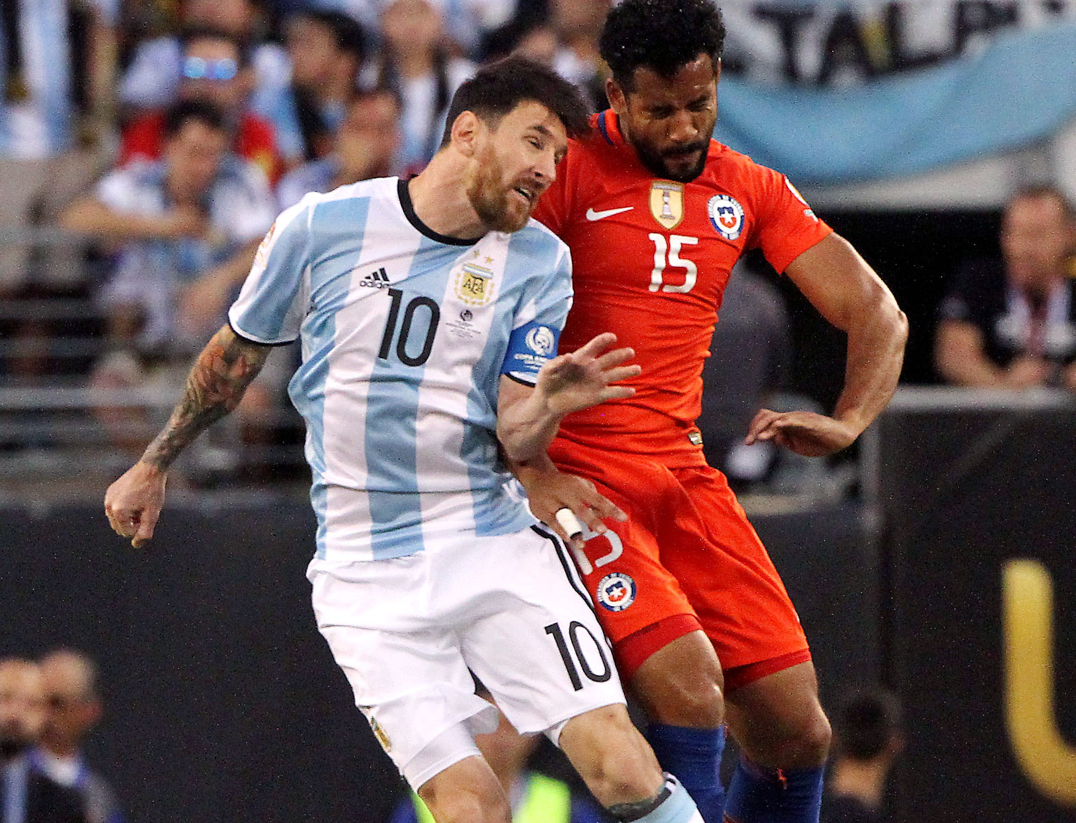 Chile beats Argentina on penalty kicks after scoreless 120 minutes to win the Copa America title at MetLife Stadium in East Rutherford, NJ., June 26, 2016, East Rutherford, NJ