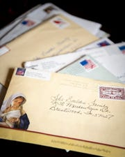 Mike Bouldin received many letters in response to the cards written by his brother, Gary, that the family mailed out after his death in May.