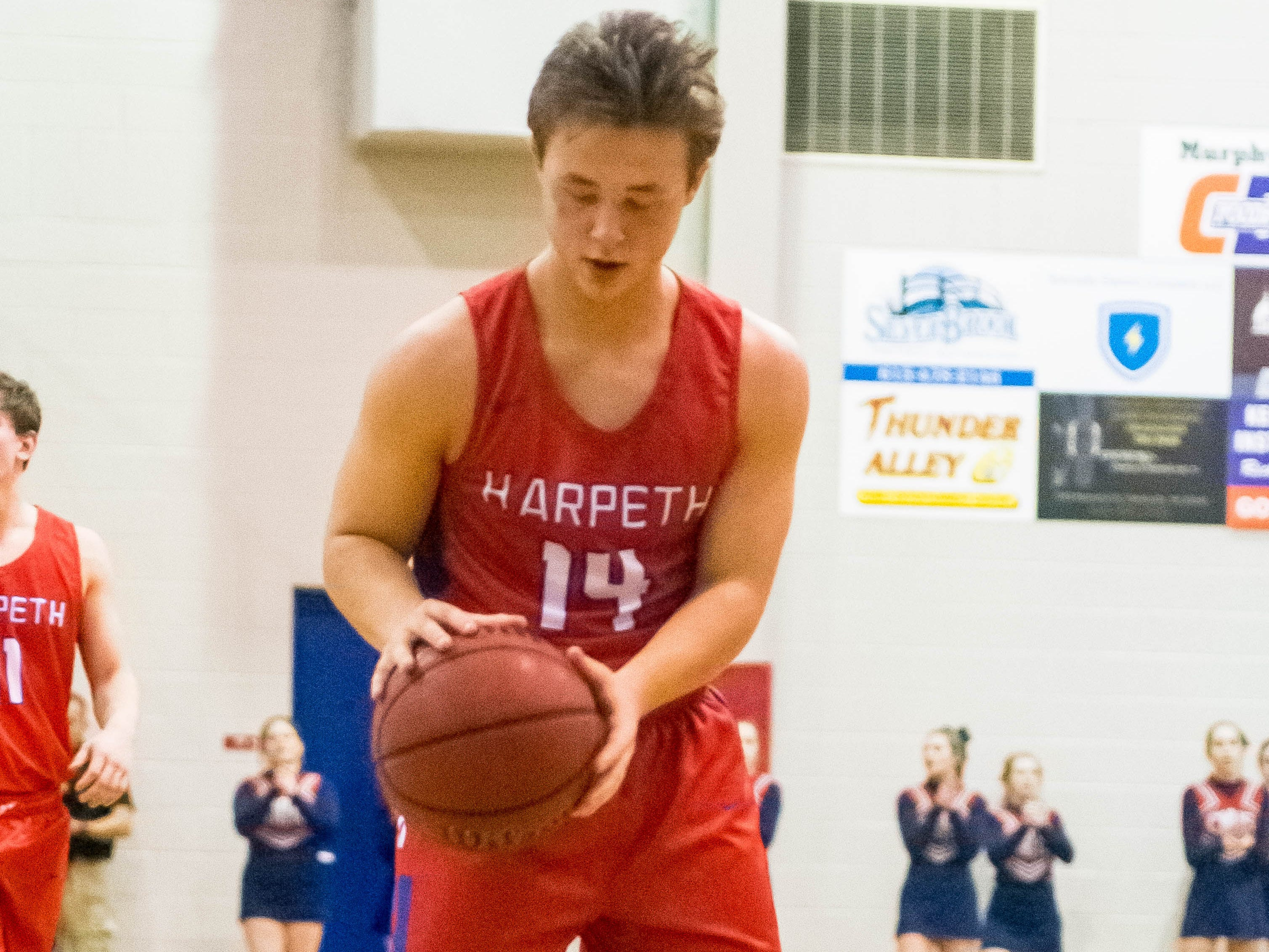 Harpeths Blake Provo adding the last two points to seasl it.
