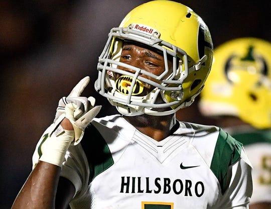Hillsboro's Gyasi Mattison has committed to Memphis.