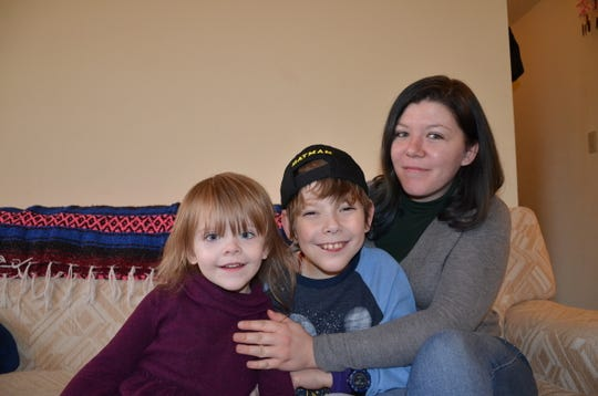 Jericho Griffith and his mother, Anna Bartley, and sister, Rosemary Williams, moved to Portland in 2017.