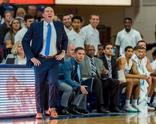 FGCU coach Michael Fly