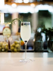 The Italian 75 at The Bevy is made with prosecco, making it a bubbly, refreshing New Year's Eve drink.