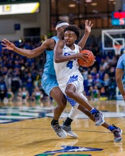 FGCU true freshman guard Zach Scott has started the past three games and is surging