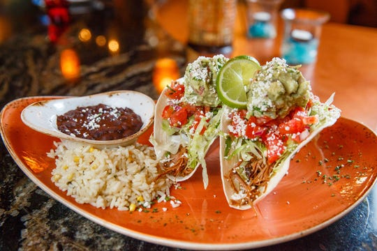 Handcrafted tacos From Agave Naples on the southwest corner of Airport-Pulling and Vanderbilt Beach roads in North Naples.