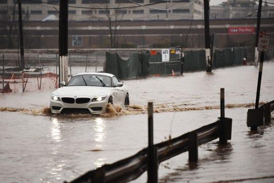 Flooded Bogota