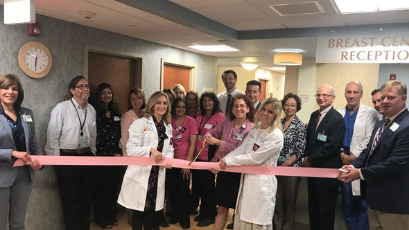 Team members recently celebrated the grand opening of the Chilton Breast Center, which has been completely transformed to offer an optimal patient experience.