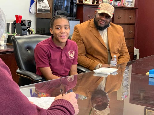 Imani Reaves And Dad