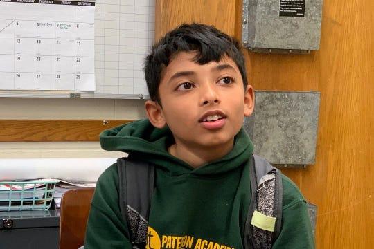 Salman Chowdhury discussing his love of math