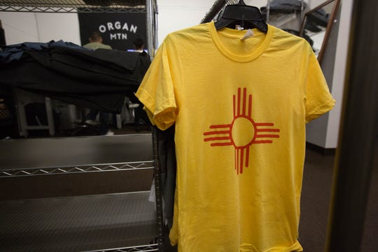 Organ Mountain Outfitters in Las Cruces will share profits from the sales of clothing with the Zia symbol with the New Mexico-based Pueblo of Zia. Wednesday December 19, 2018.