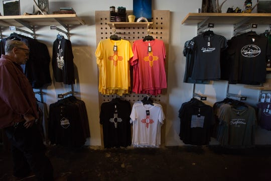 Organ Mountain Outfitters is hoping to strike a new tone with its use of the Zia symbol on apparel and merchandise — by reaching a profit-sharing agreement with the Pueblo of Zia. Wednesday December 19, 2018.