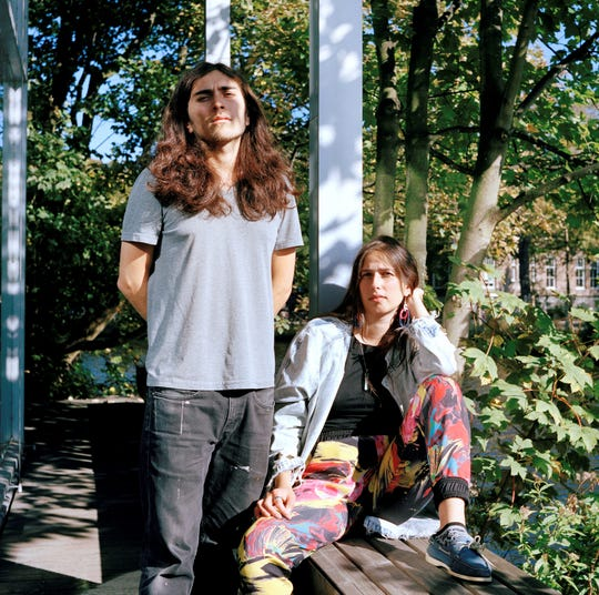 Heidi Howard and Esteban Cabeza de Baca at the Rijksakademie van beeldende kunsten in Amsterdam.