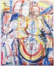 Ernst Rejseger, 210 x 160 cm, oil on linen by Heidi Howard.