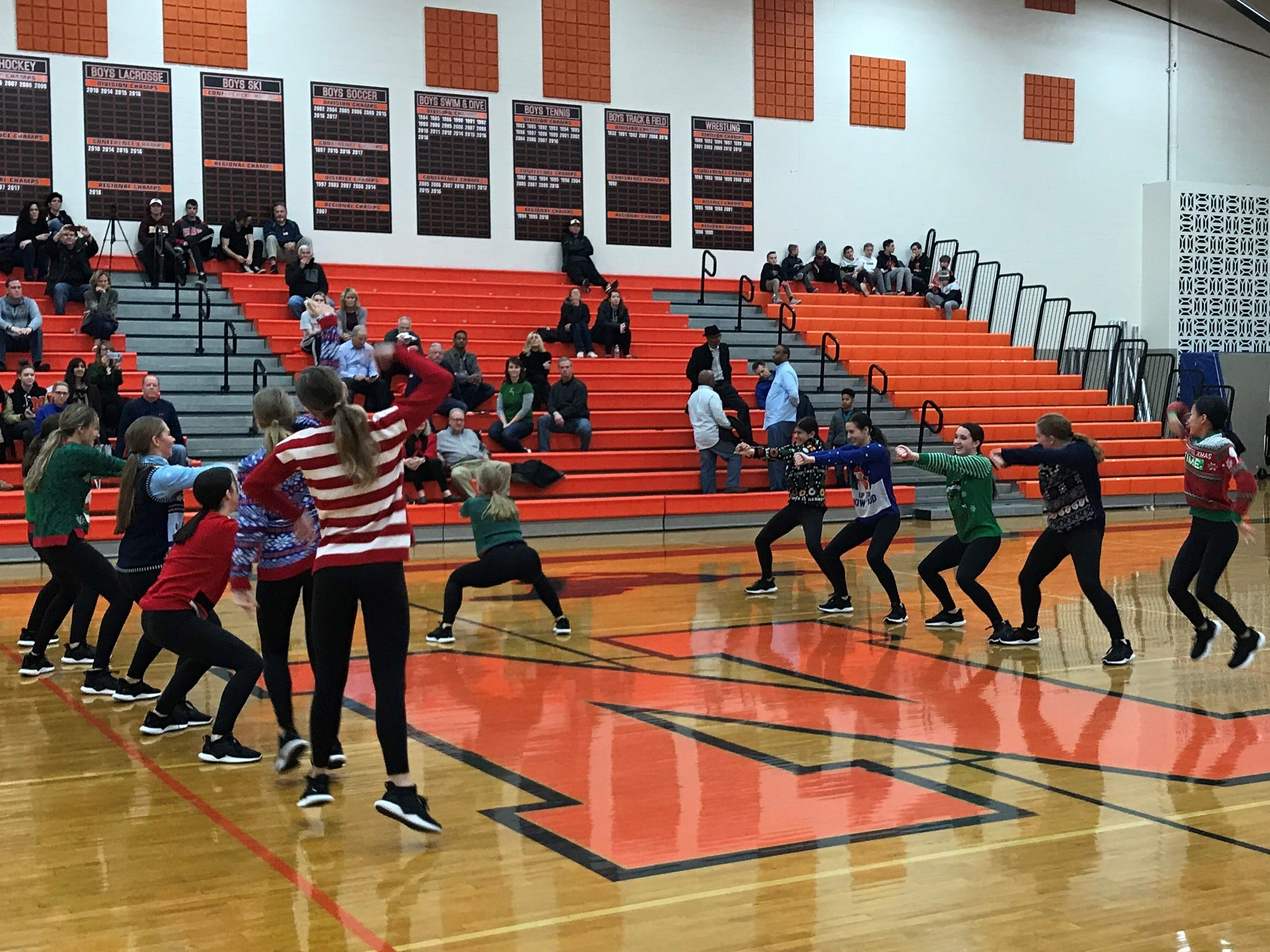 It's 'ugly Christmas sweater' time at Northville High School.