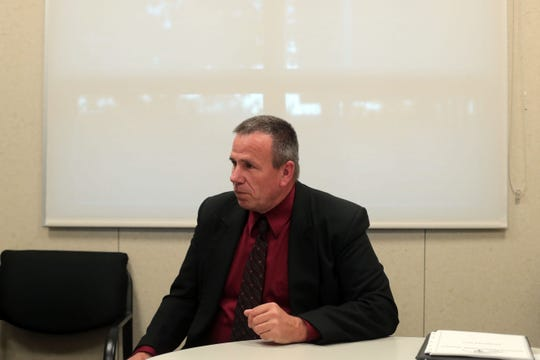Tom Baumgarten the superintendent at Morongo Unified School District defends district's PLUS Program for troubled students on Friday, December 7, 2018 in Yucca Valley.
