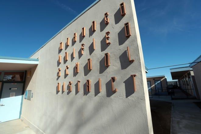 The Morongo Unified School District building in Twentynine Palms.