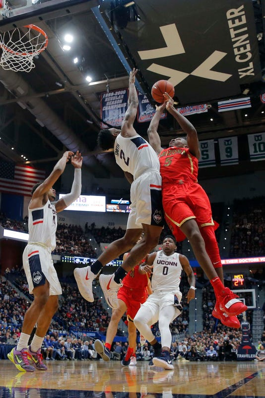 Ncaa Basketball Arizona At Connecticut