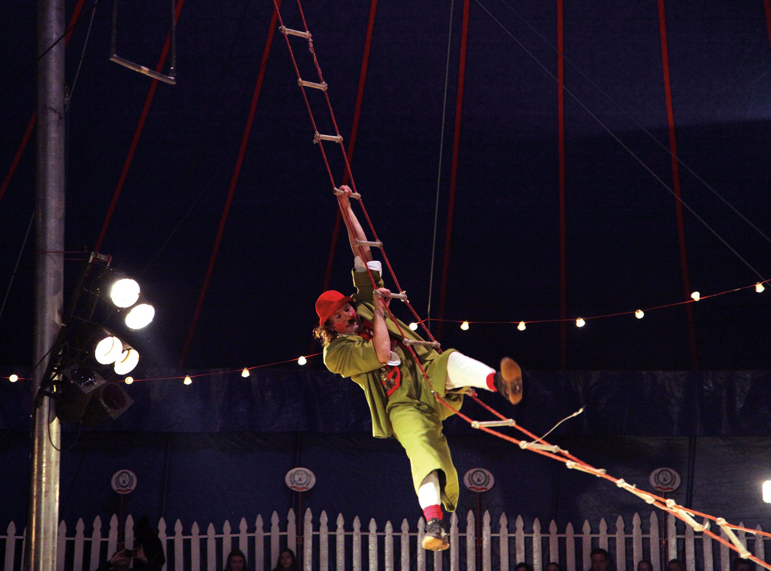 Zoppe: An Italian Family Circus features sixth-generation circus performers such as Nino the Clown.