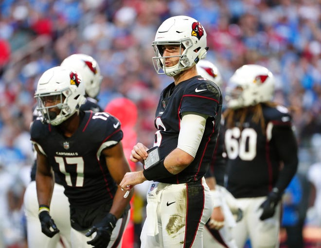 Arizona Cardinals quarterback Josh Rosen.