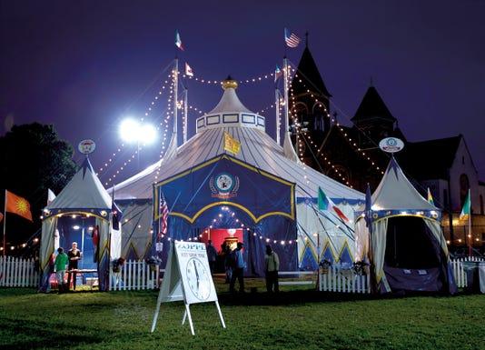 Zoppe Tent Night