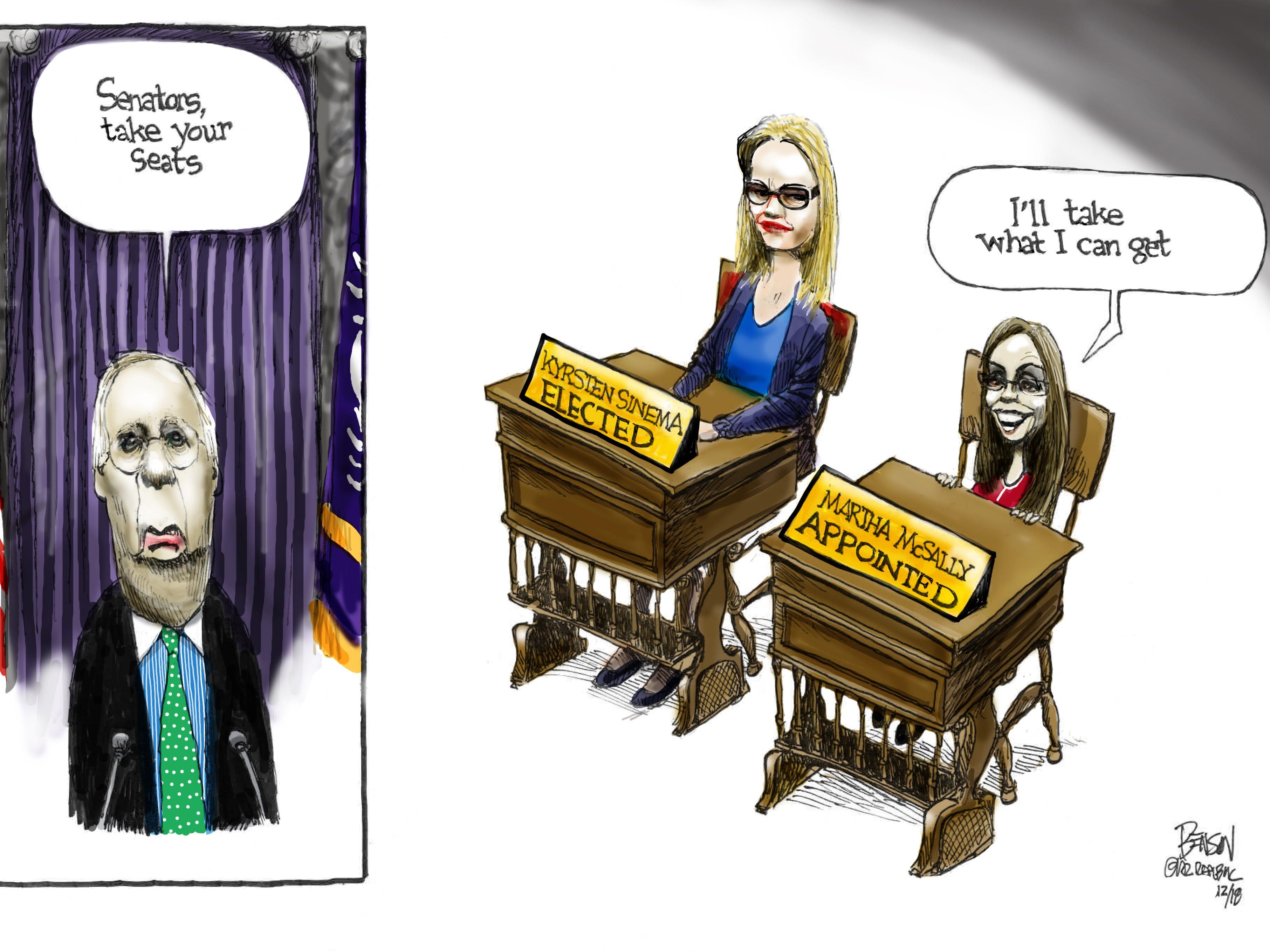 Cartoon for Dec. 23, 2018.