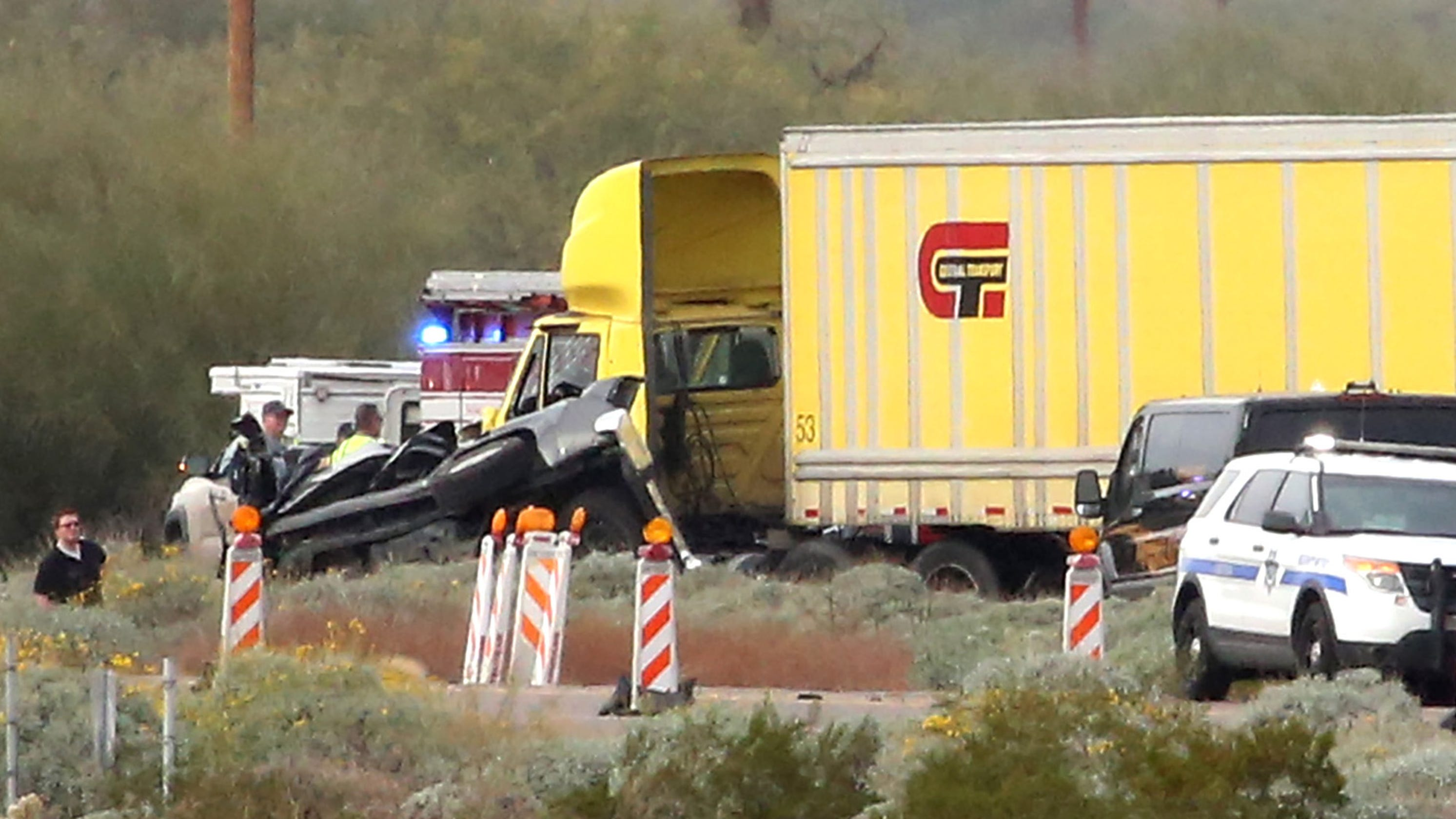 Interstate 10 near Picacho Peak reopens after crash