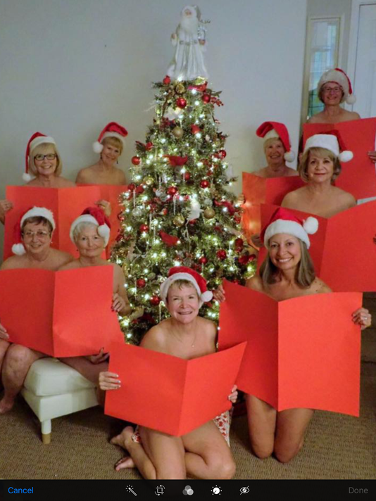 Gold Canyon retirees pose nude (sort of) to fight cancer