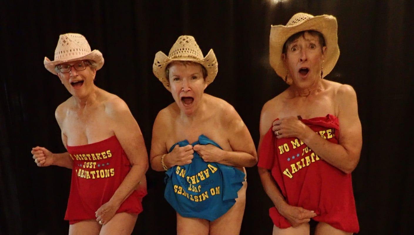 Grandmothers pose for nude calendar movie