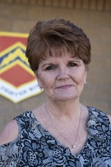 Portrait of Barbara Plante, Deputy Director of Luke Air Force Base's Community Initiatives Team, who has worked at Luke for 26 years. She retires this month.
