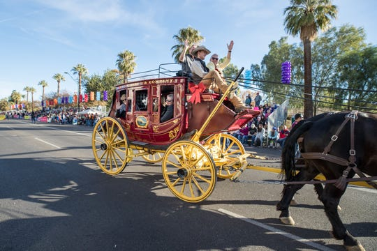 The Desert Financial Bowl Parade will have around 90 parade units, including marching bands, dance groups, floats and balloons.
