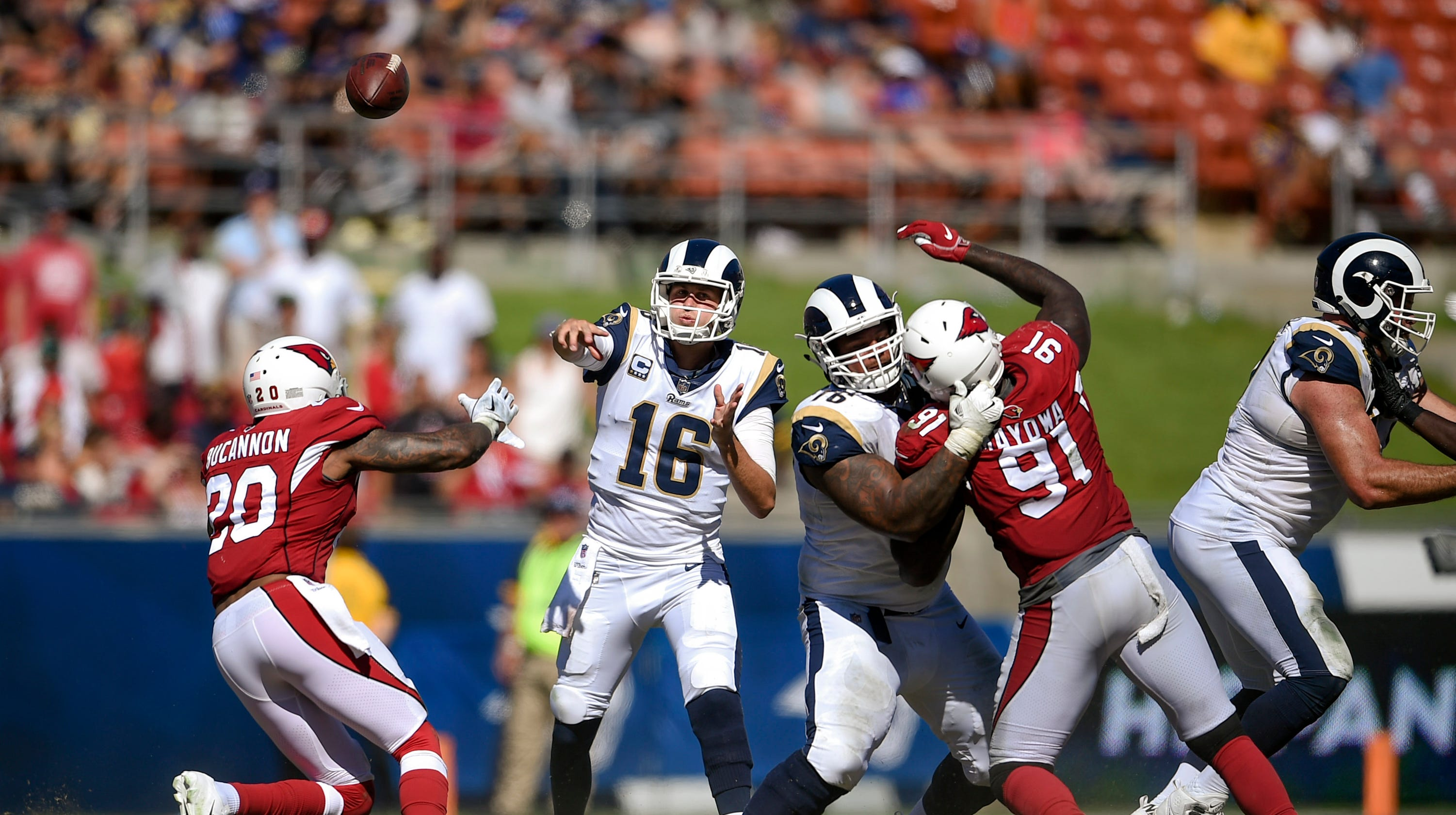 c5286347690e61 Arizona Cardinals vs. Los Angeles Rams  Who has the edge in Week 16 NFL  game