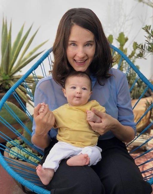 Ximena Sariñana es mamá de Franca.